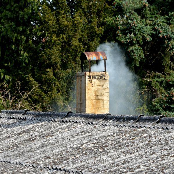 cubierta de amianto riesgos