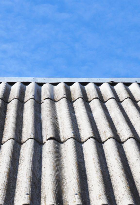 techo de amianto